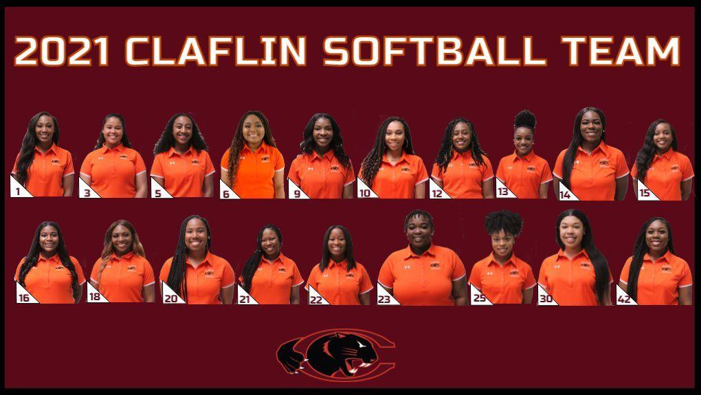 2021 Claflin Softball team