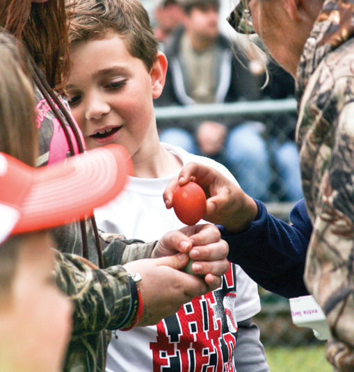 2014 Governor's Frog Jump and Egg Strike Contest