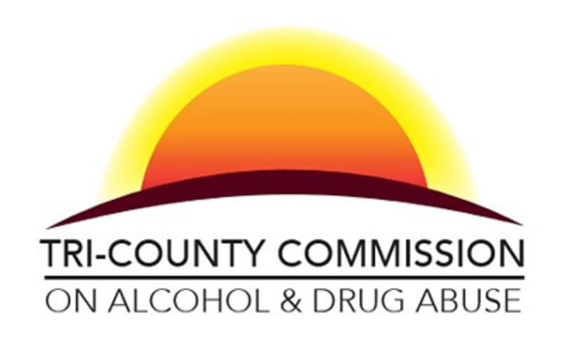 LIBRARY Tri County Commission on Alcohol and Drug Abuse logo