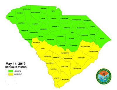 S.C. drought status