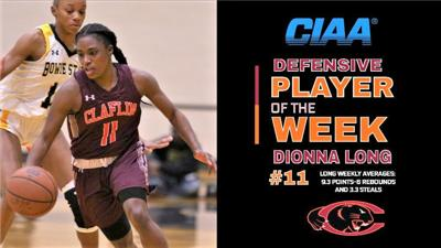 CIAA Defensive Player of the Week