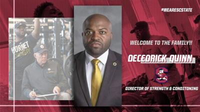 DeCedrick Quinn - SC State strength and conditioning