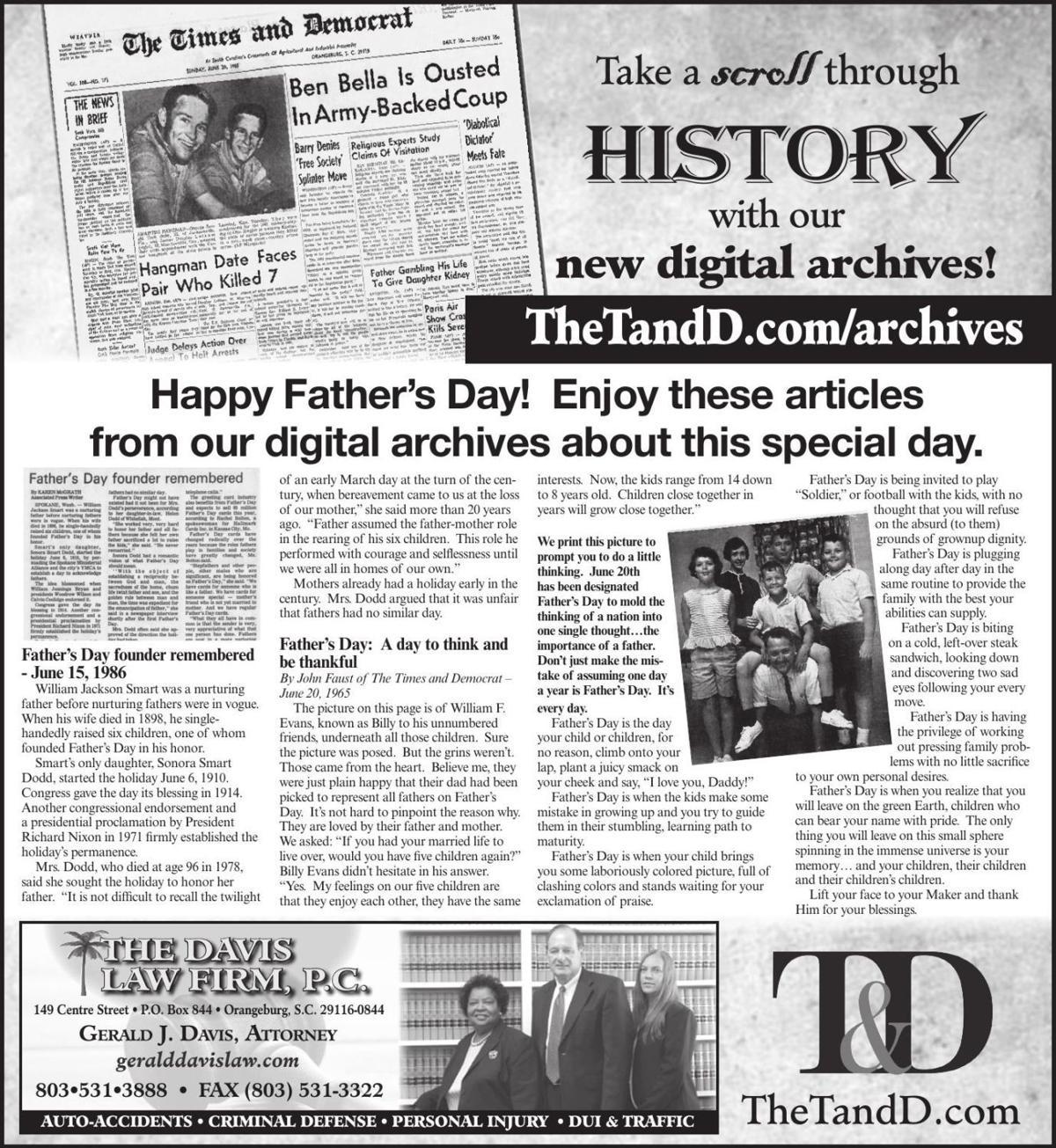 TheTandD.com/archives June 16, 2019