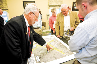 C.B. Hughes looks at proposal for intersection