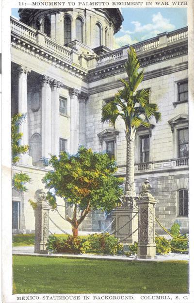 Palmetto Regiment Monument