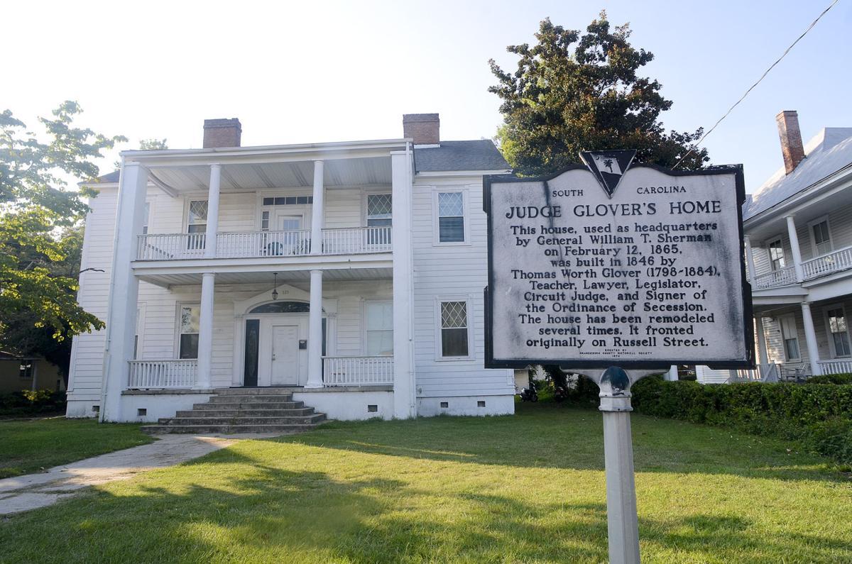 Judge Glover's home