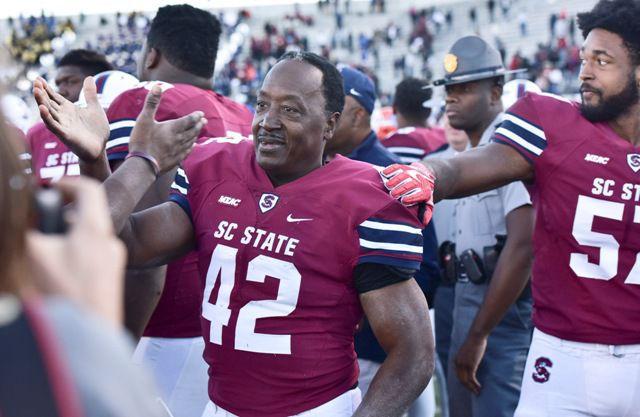 Joe Thomas Sr. runs S.C. State into college football ...