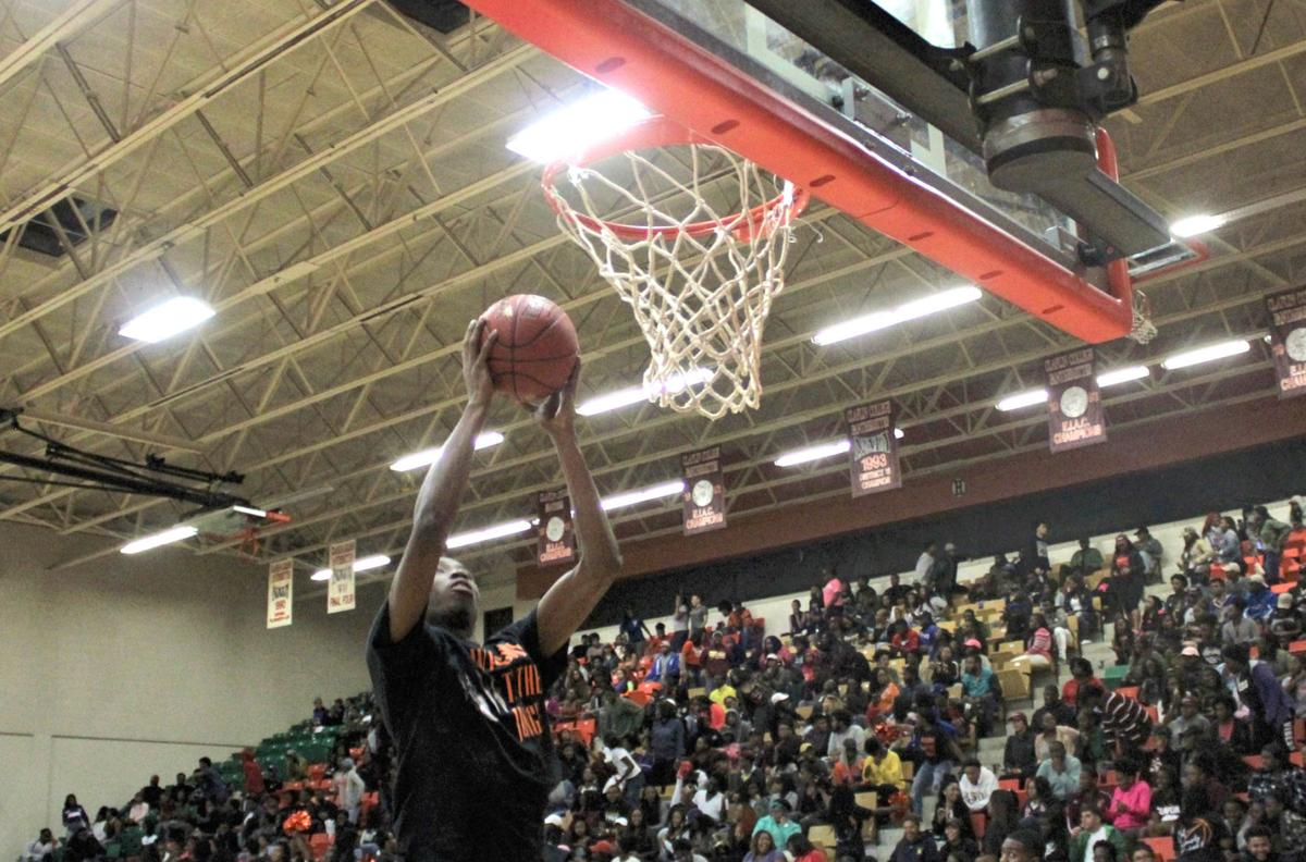 Jones dunks for Claflin during Panther Madness