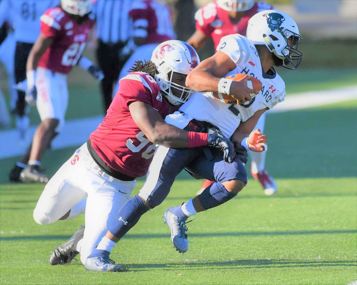 Johnson gets stop for SC State