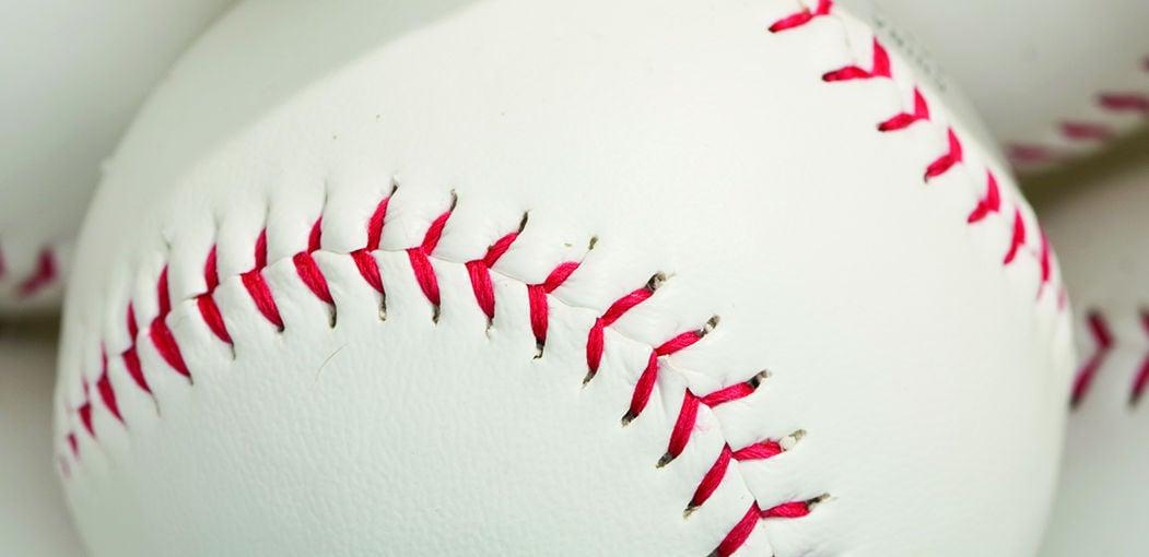 LIBRARY baseball illustration
