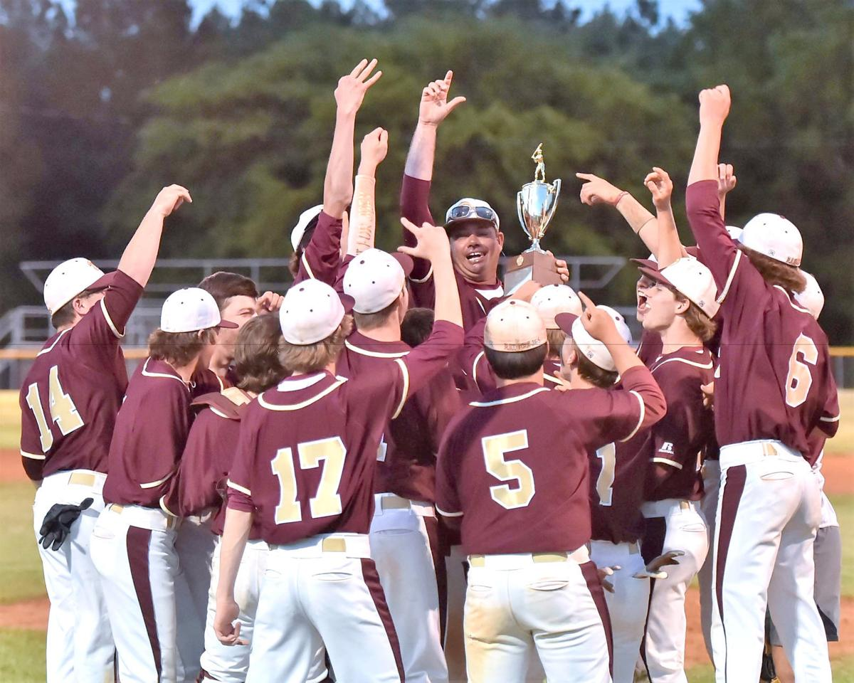 DA baseball gets third consecutive state title