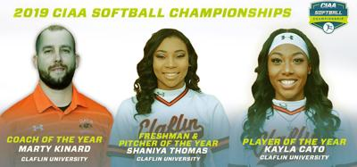 Claflin softball sweeps CIAA postseason honors
