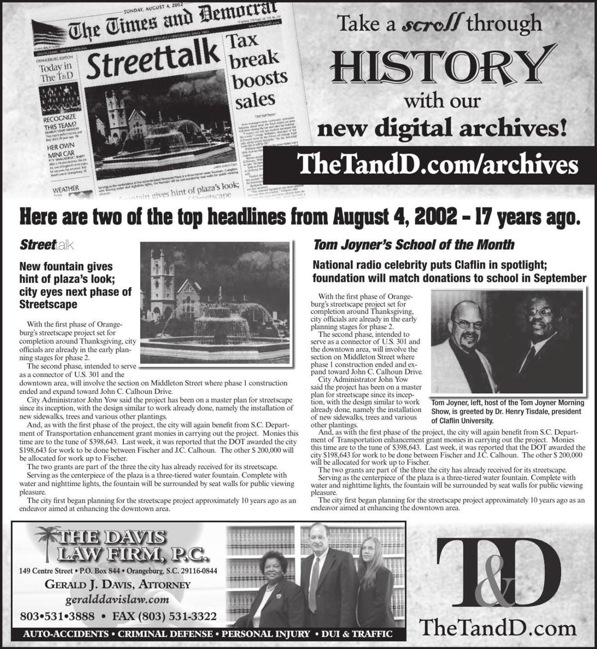 TheTandD.com/archives Aug. 4, 2019