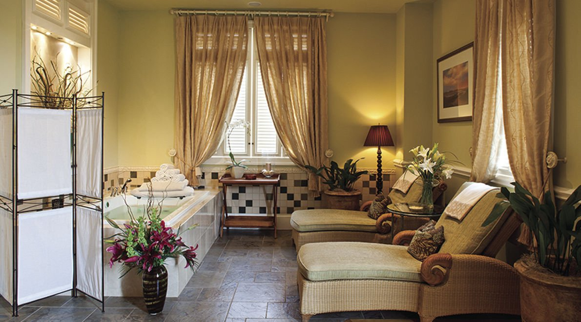 View of a room at the Kiawah Island Golf Resort.