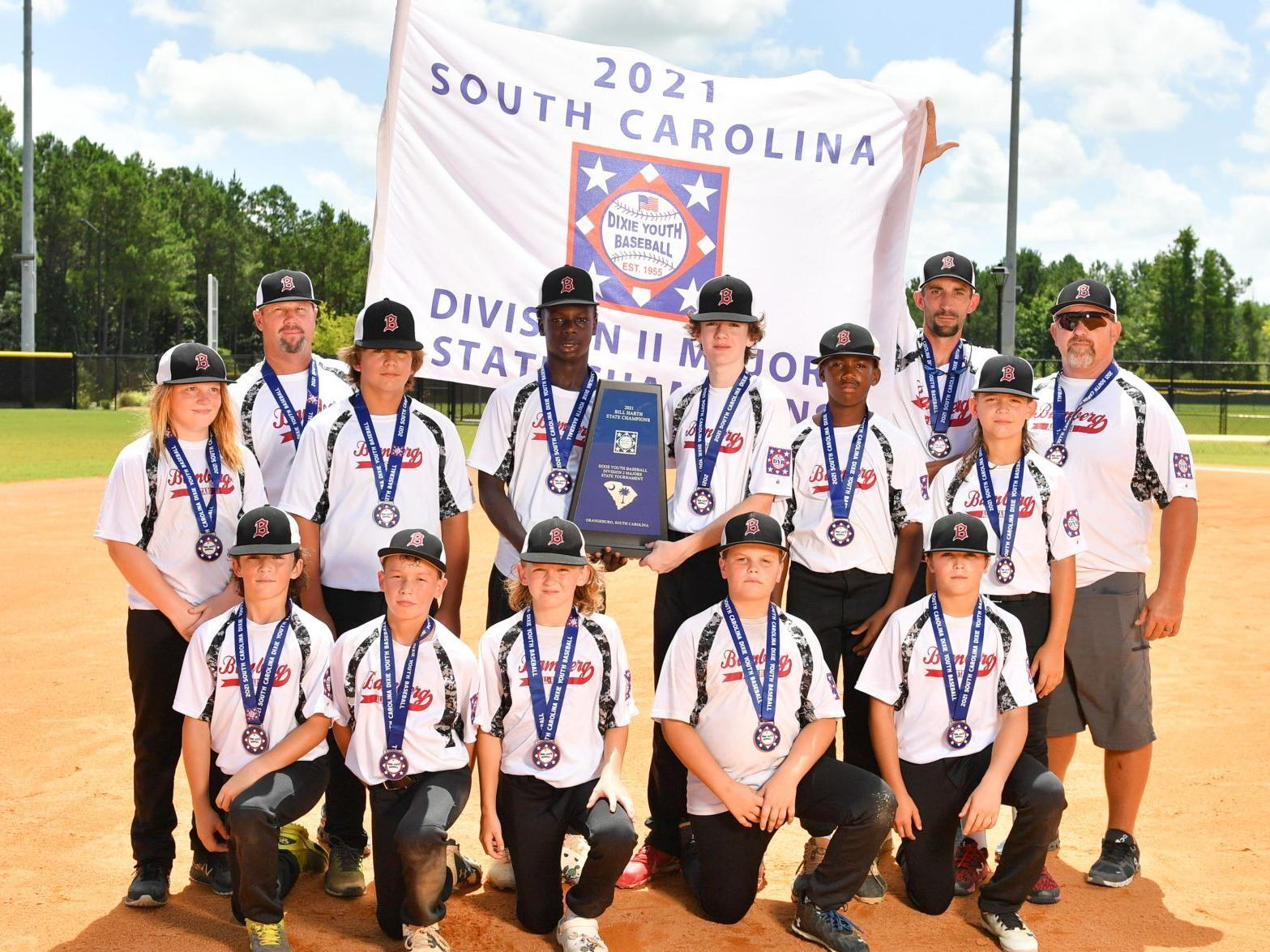 Bamberg Wins Title Earns Berth In Dixie Youth World Series Local Thetandd Com