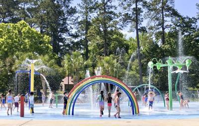 Spray Park Opens