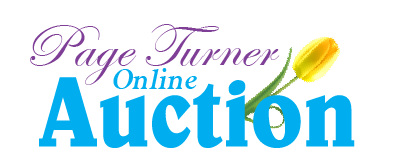 Page Turner online silent auction