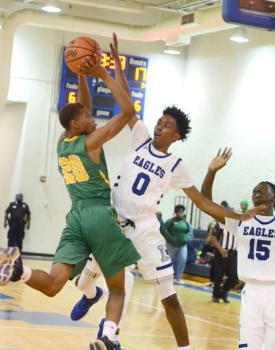 C.A. Johnson vs. North boys basketball