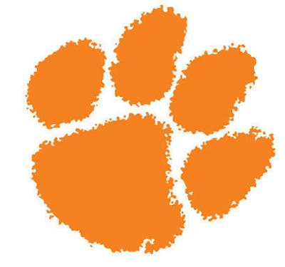 Clemson tiger paw (copy)