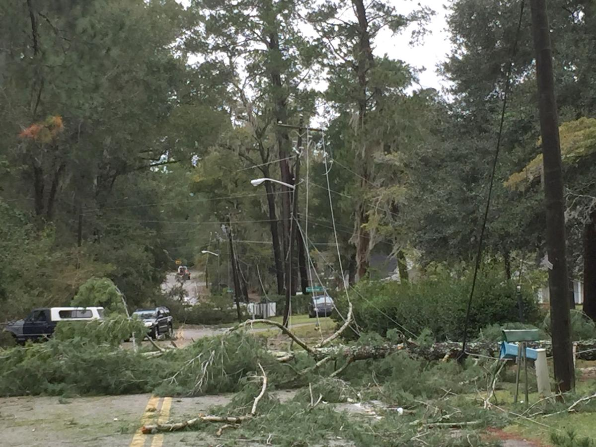 Hurricane Matthew-Riverside Drive