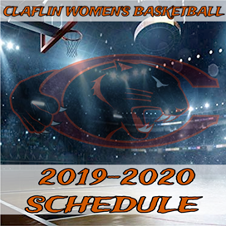Claflin women's basketball schedule logo 2019