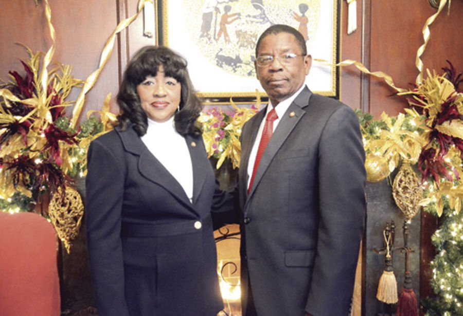 Dr. Henry Tisdale and Alice Tisdale
