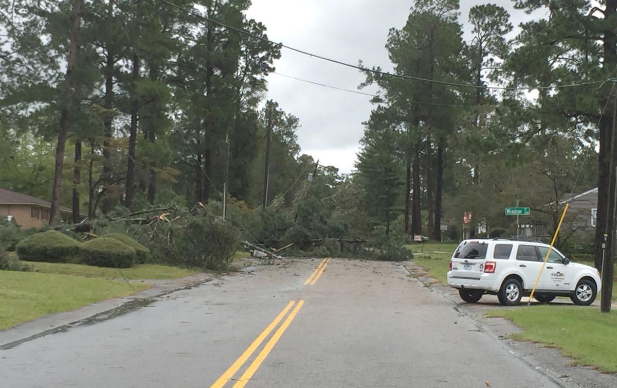 Hurricane Matthew-Scoville Street