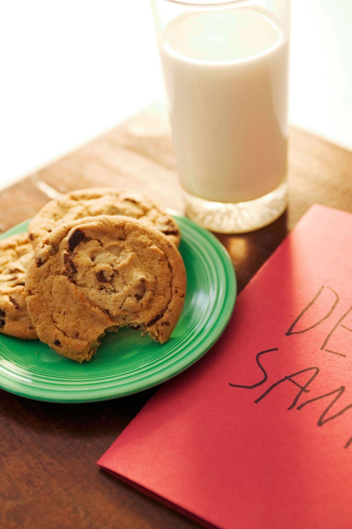 Dear Santa, cookies and milk