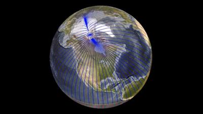 Earth's Magnetic Pole