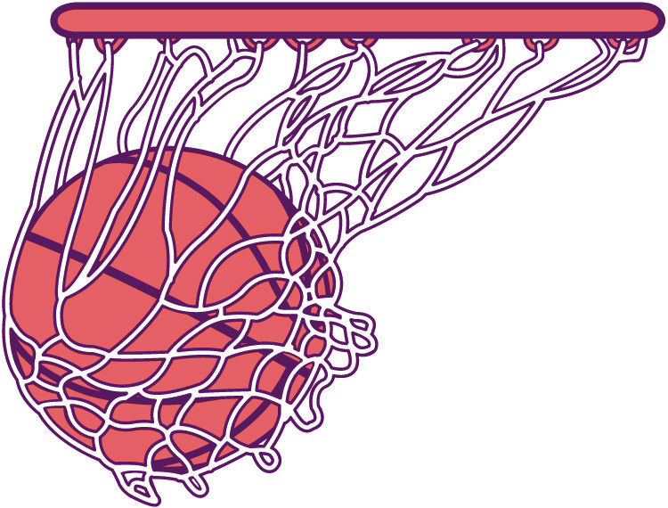 generic Basketball clip art library