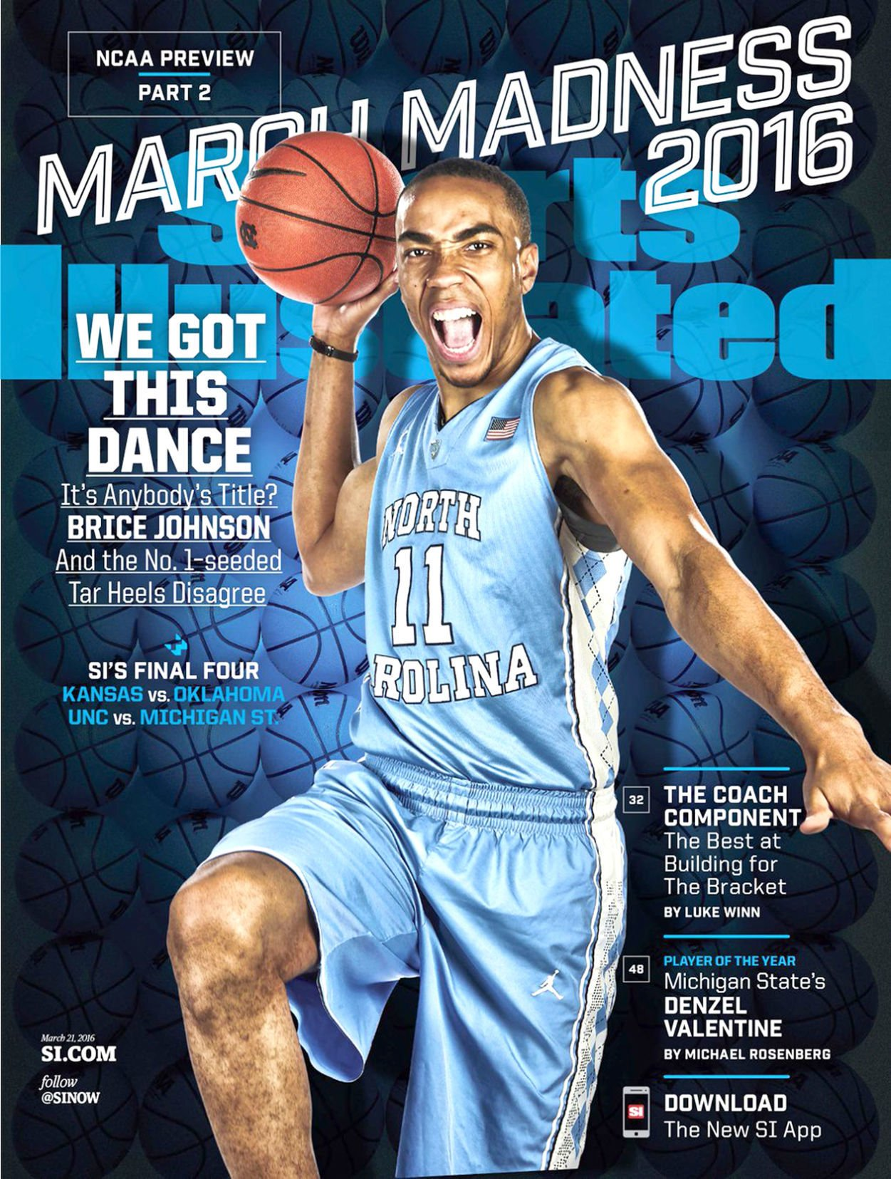 Brice Johnson: SI cover, jersey in the rafters   Sports   thetandd.com