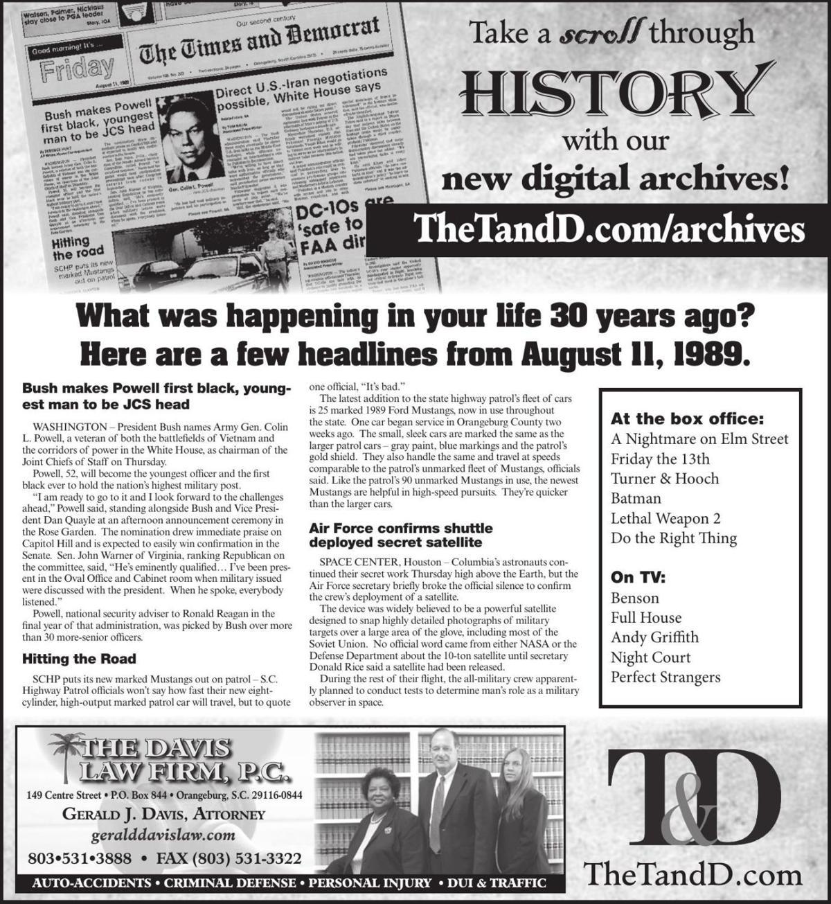 TheTandD.com/archives Aug. 11, 2019
