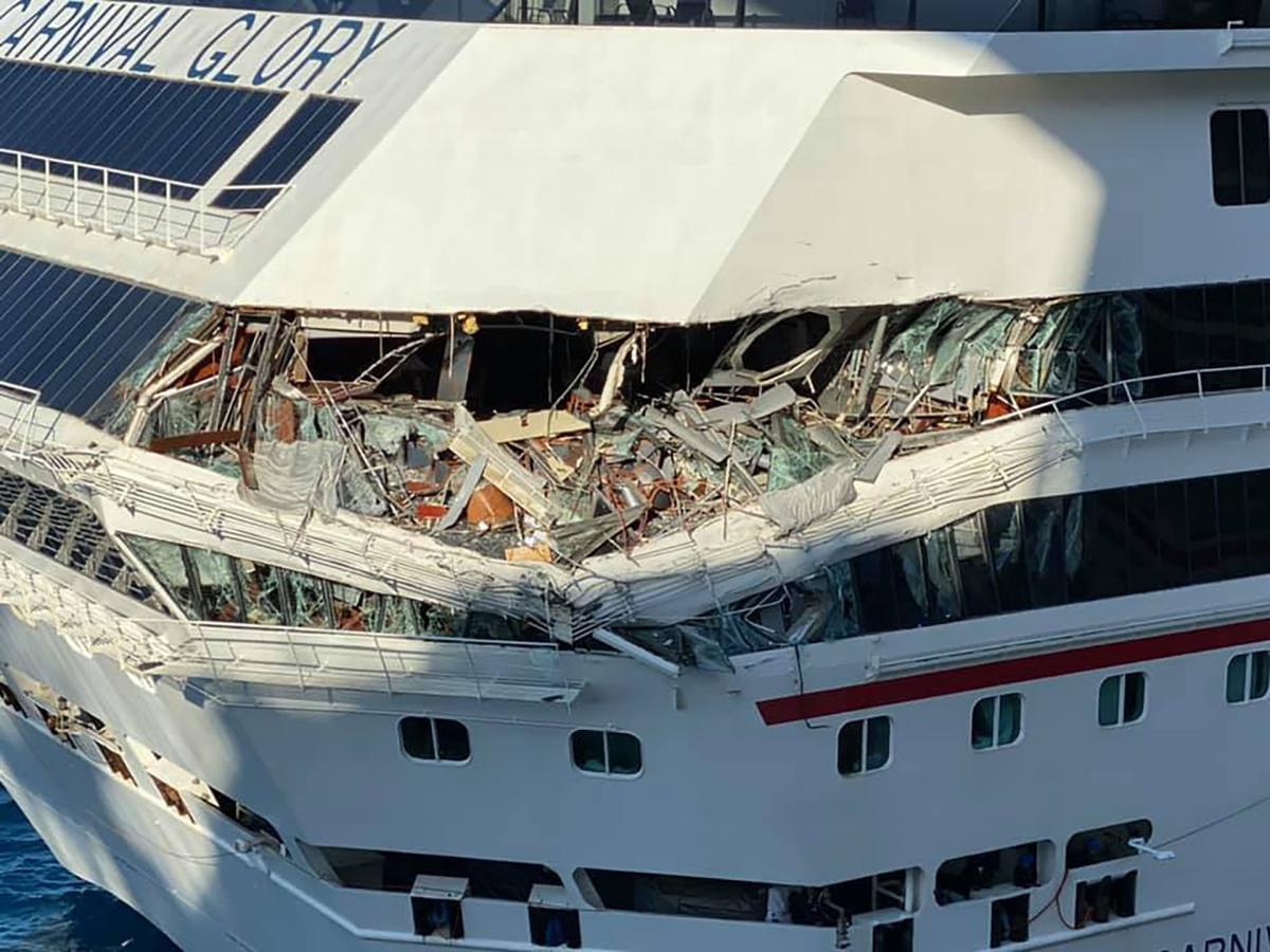 Video shows cruise ships colliding in Cozumel, Mexico; 1 ...