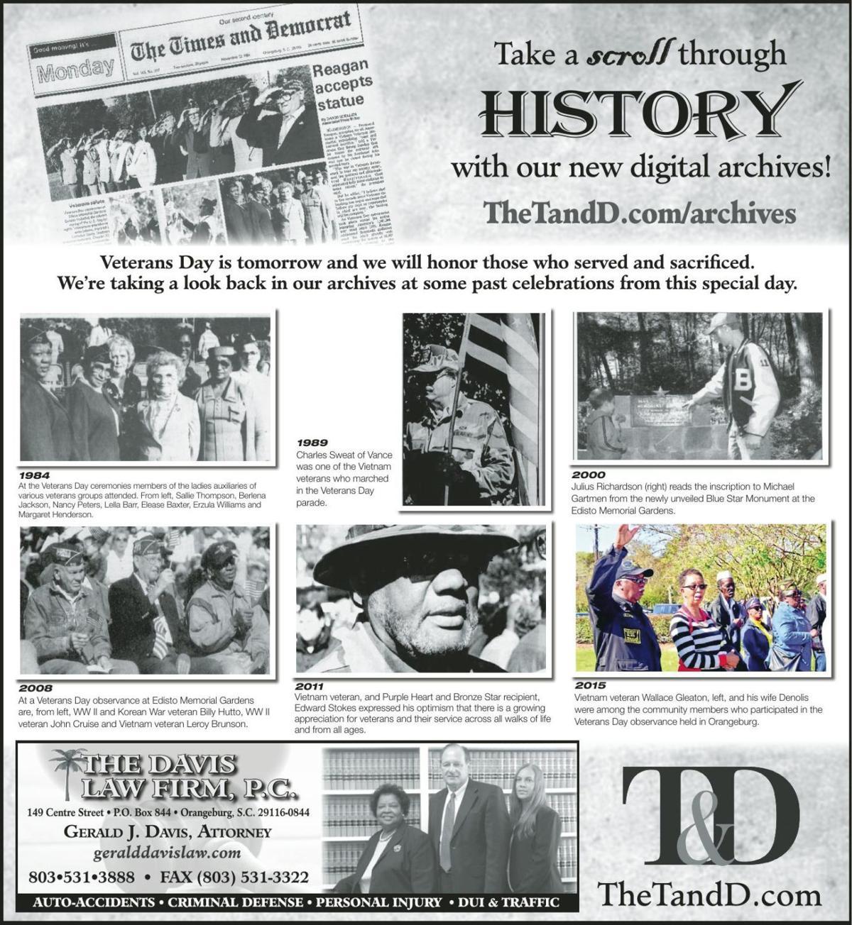TheTandD.com/archives Nov. 10, 2019