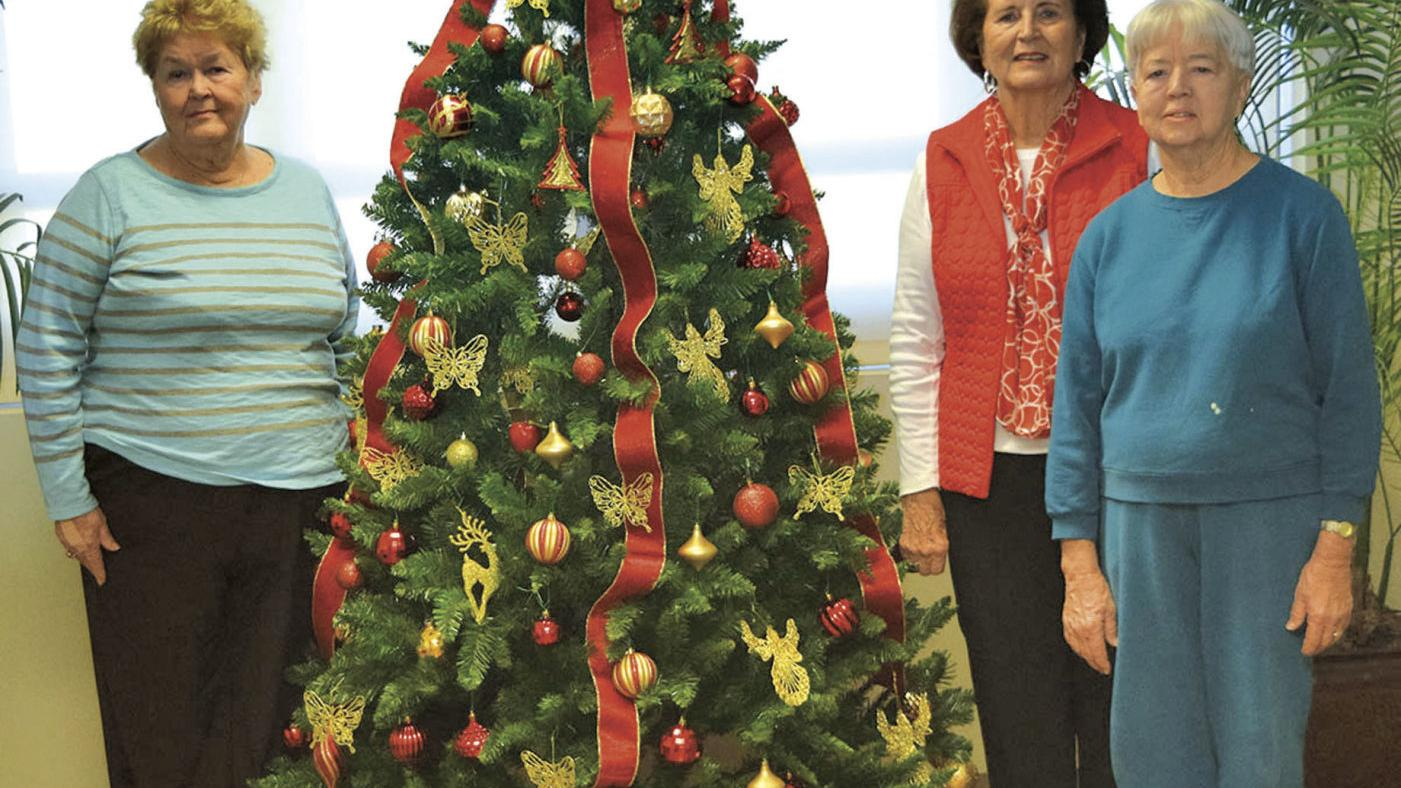 Garden clubs bring Christmas glitz, dazzle to Regional Medical Center