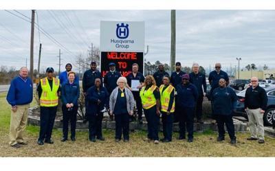 Husqvarna honors decades of service