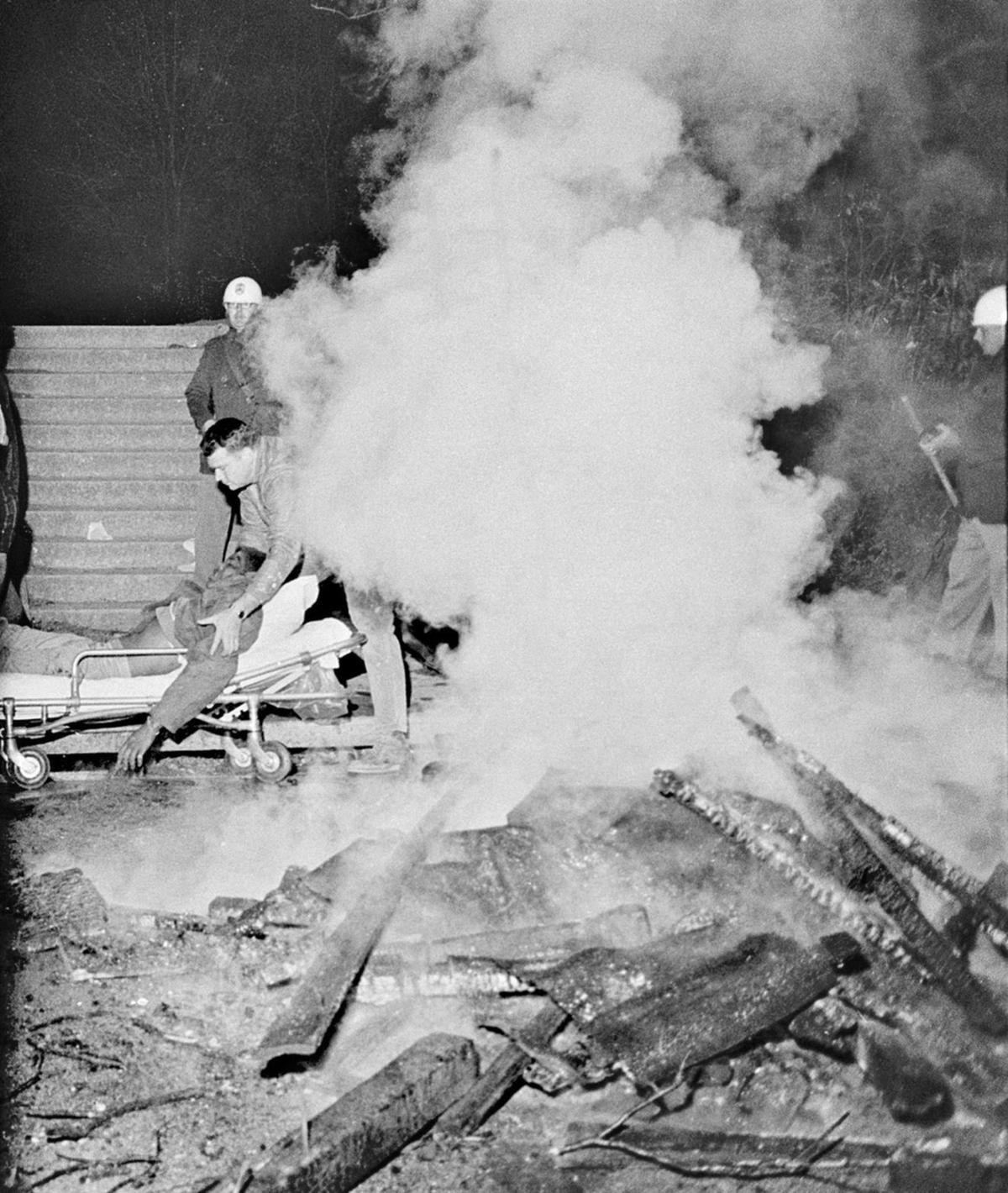 Orangeburg Massacre scene