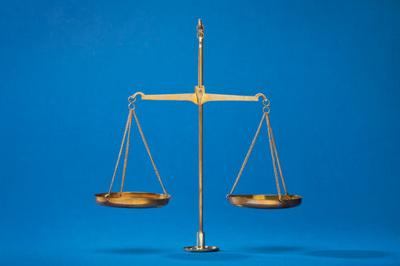 ILLUSTRATION: Scales of Justice