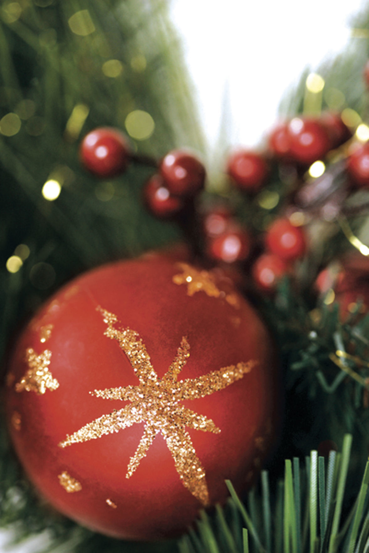 Christmas decorations.