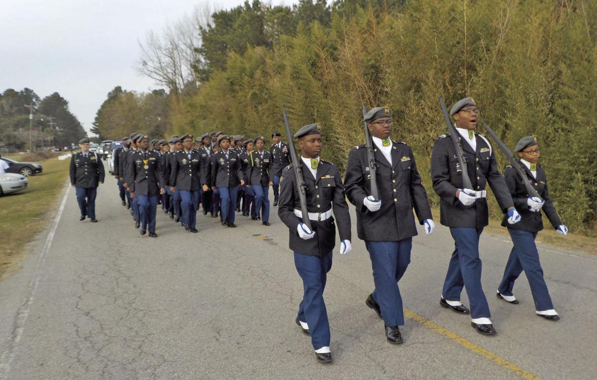 The Lake Marion High School Junior Reserve Officer Training Corps