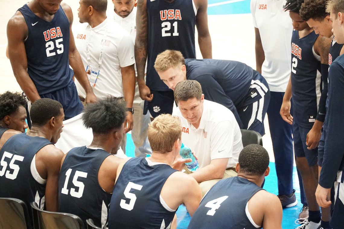 Brownell coaches at World University Games