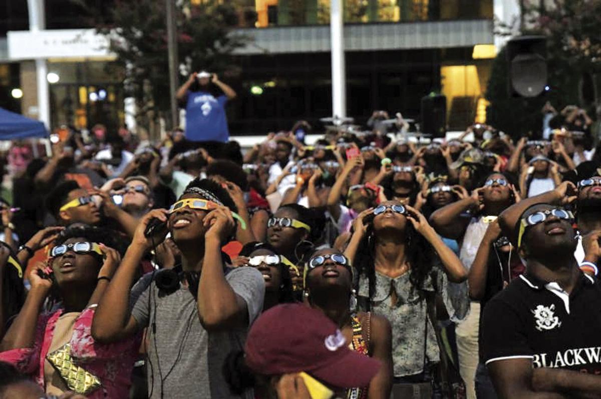 Claflin eclipse event