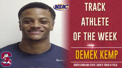 Demek Kemp SC State MEAC athlete of the week