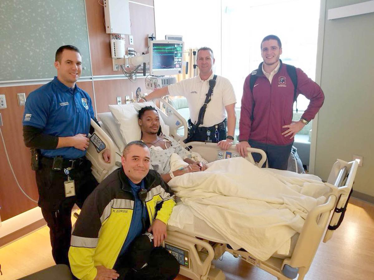 Ty Solomon in hospital