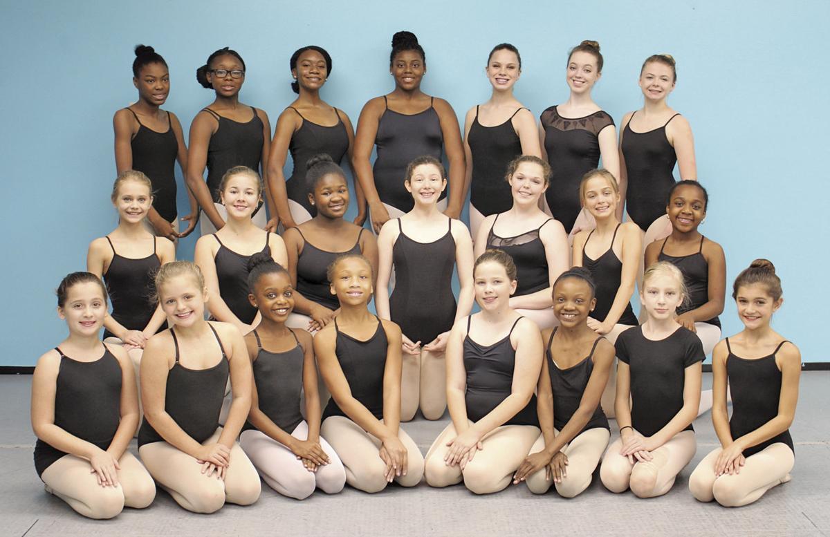Orangeburg Civic Ballet members