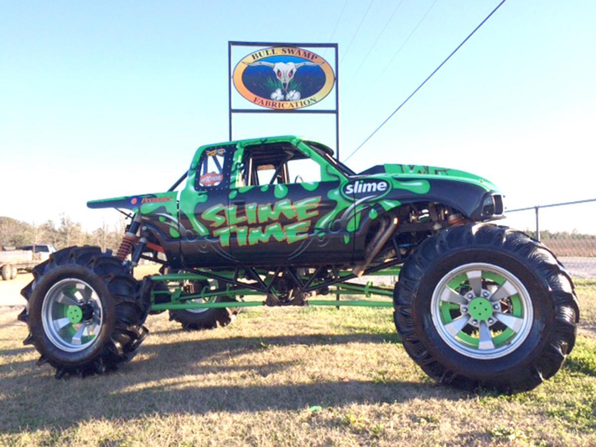 Slime Time mud truck
