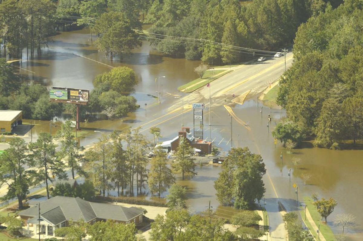 WED crapse edisto flooding aerial