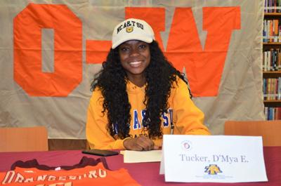 Tucker signs with NCA&T