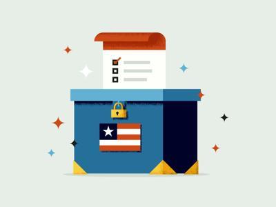 CT Voting Spot Illustration COLOR