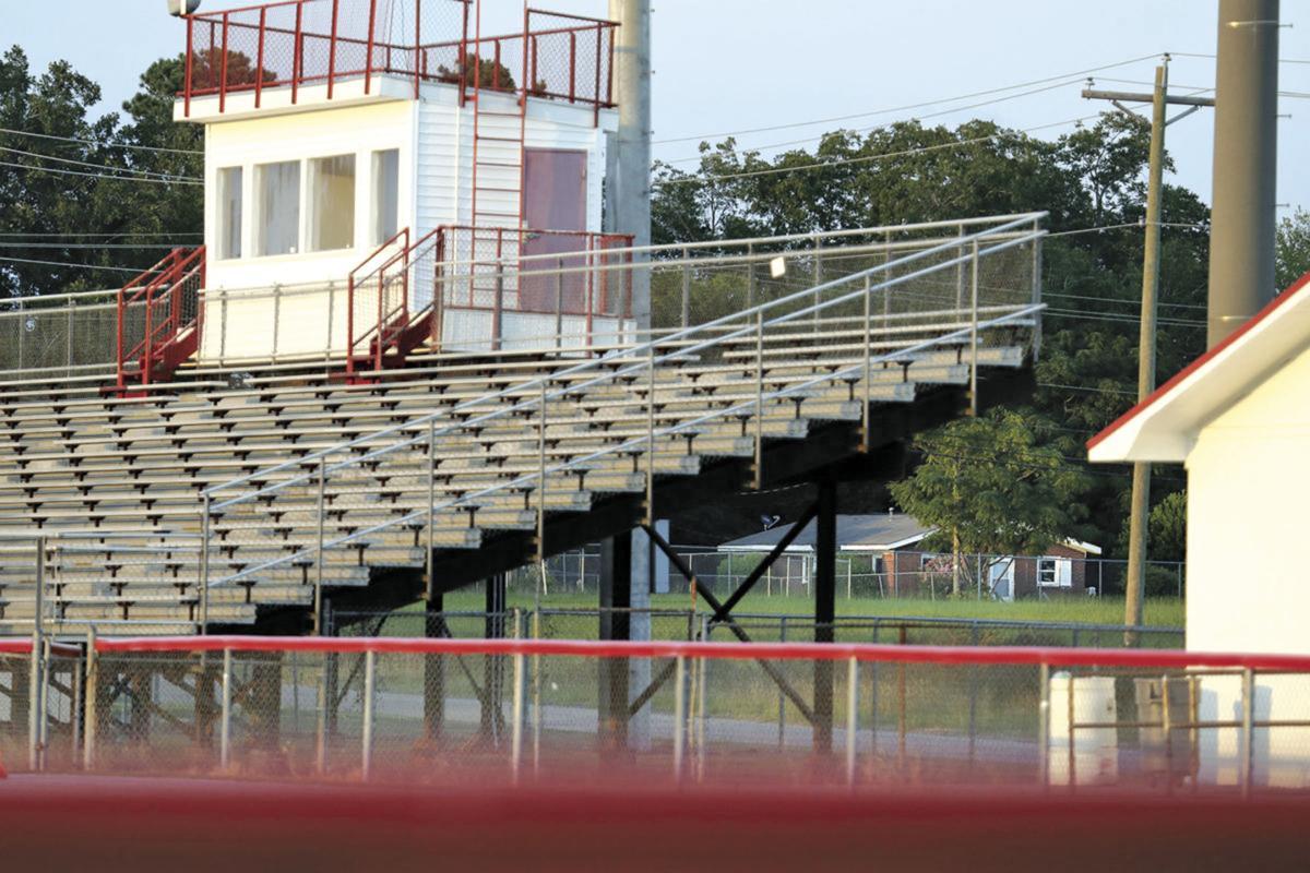 Calhoun County High School football stadium in St. Matthews